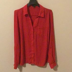 Red Limited button down